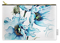 Blue Wind Carry-all Pouch