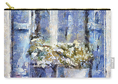 Blue Window Carry-all Pouch by Shirley Stalter