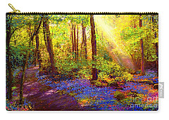 Bluebell Blessing Carry-all Pouch