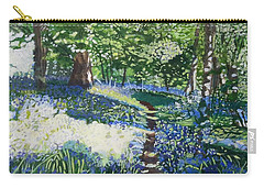 Bluebell Forest Carry-all Pouch