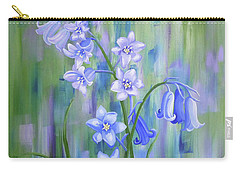 Bluebell Haze Carry-all Pouch