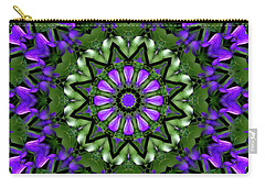 Bluebells And Reflection Carry-all Pouch by Aliceann Carlton
