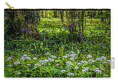 Bluebells And Wild Garlic At Coole Park Carry-all Pouch