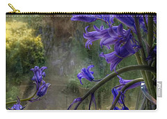 Bluebells In My Garden Window Carry-all Pouch