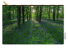 Bluebells In Oxey Woods Carry-all Pouch
