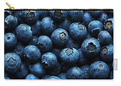 Blueberries Background Close-up Carry-all Pouch