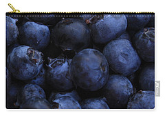 Blueberries Close-up - Horizontal Carry-all Pouch