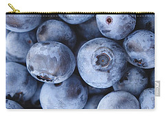 Blueberries Foodie Phone Case Carry-all Pouch by Edward Fielding