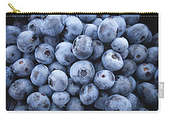 Blueberries Carry-all Pouch by Happy Home Artistry