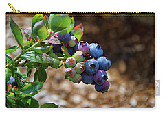 Blueberries Out On A Limb Carry-all Pouch