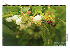 Blueberry Blossoms Carry-all Pouch