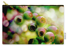 Blueberry On The Vine Carry-all Pouch by Mike Eingle