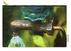 Bluebird Garden Ornament Carry-all Pouch