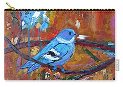 Bluebird In Autumn Carry-all Pouch