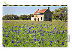 Bluebonnet Field Carry-all Pouch