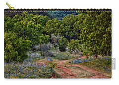 Bluebonnet Road Carry-all Pouch