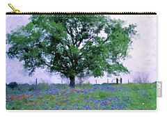 Bluebonnet Tree Carry-all Pouch by Gary Grayson