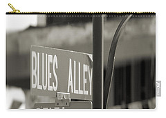 Blues Alley Street Sign Carry-all Pouch