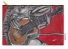 Blues Cat On Guitar Carry-all Pouch
