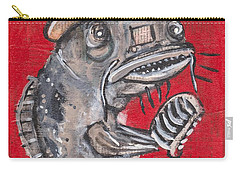 Blues Cat Singer Carry-all Pouch