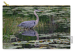 Blue's Image- Great Blue Heron Carry-all Pouch