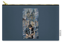 Blues Of Prague. Carry-all Pouch