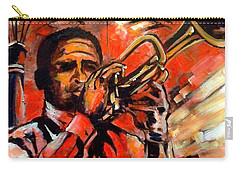 Blues On Bourbon Street Carry-all Pouch by Diane Millsap