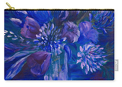 Blues To Brighten Your Day Carry-all Pouch