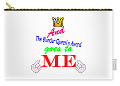Blunder Queen Carry-all Pouch