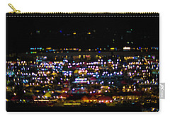 Blurred City Lights  Carry-all Pouch by Jingjits Photography
