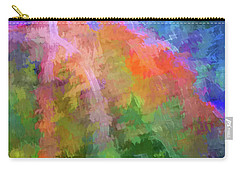 Carry-all Pouch featuring the photograph Blurry Painting by Wendy McKennon