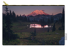 Carry-all Pouch featuring the photograph Morning Blush by Gene Garnace