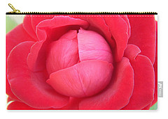 Blush Lettuce Rose Carry-all Pouch