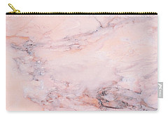 Blush Marble Carry-all Pouch