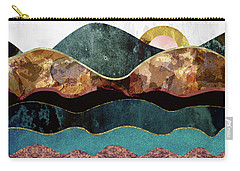 Blush Moon Carry-all Pouch by Katherine Smit
