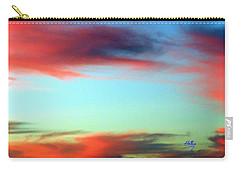 Blushed Sky Carry-all Pouch