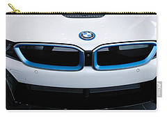 Carry-all Pouch featuring the photograph Bmw E Drive I8 by Aaron Berg