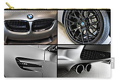 Vehicles Carry-all Pouch featuring the photograph Bmw M3 Collage by Aaron Berg