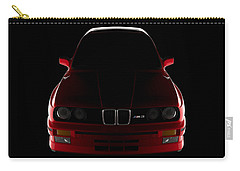 Bmw M3 E30 - Front View Carry-all Pouch