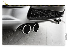 Vehicles Carry-all Pouch featuring the photograph Bmw M3 Exhaust  by Aaron Berg