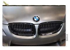 Vehicles Carry-all Pouch featuring the photograph Bmw M3 Hood by Aaron Berg