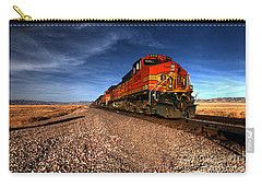 Bnsf Freight  Carry-all Pouch by Rob Hawkins
