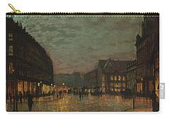 Boar Lane, Leeds, By Lamplight By John Atkinson Grimshaw. Carry-all Pouch