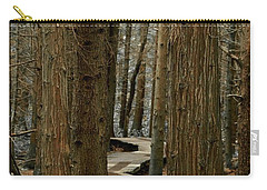 Boardwalk Among Trees Carry-all Pouch