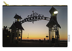 Boardwalk Arch At Dawn Carry-all Pouch by Robert Banach