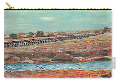 Boardwalk At Sandwich Ma Carry-all Pouch