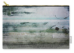 Boardwalk Blues 2- Art By Linda Woods Carry-all Pouch by Linda Woods