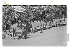 Boardwalk Climbing A Hill Carry-all Pouch