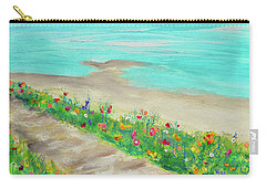 Boardwalk In Carmel Carry-all Pouch