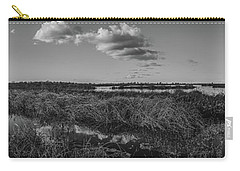 Boardwalk Panorama Monochrome Carry-all Pouch